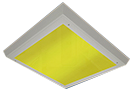 COLOURED LED Collage Newsletter yellow