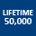 Lifetime 50,000