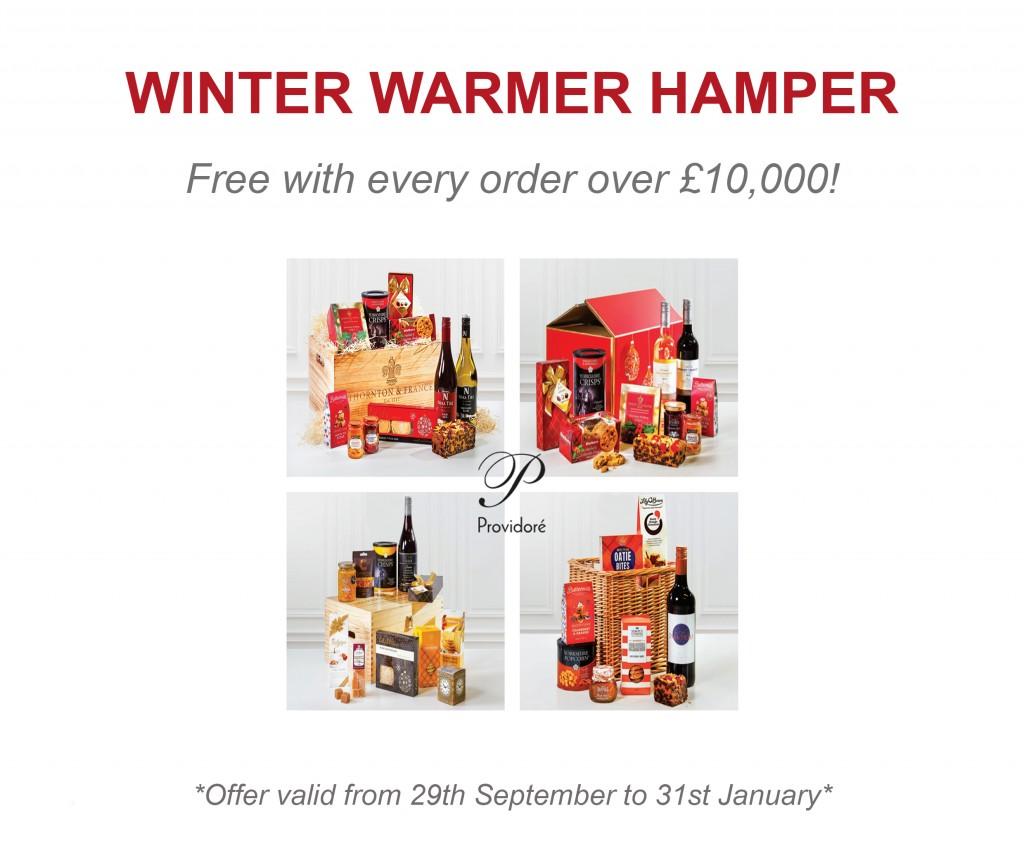 Winter Warmer Hamper Newsletter