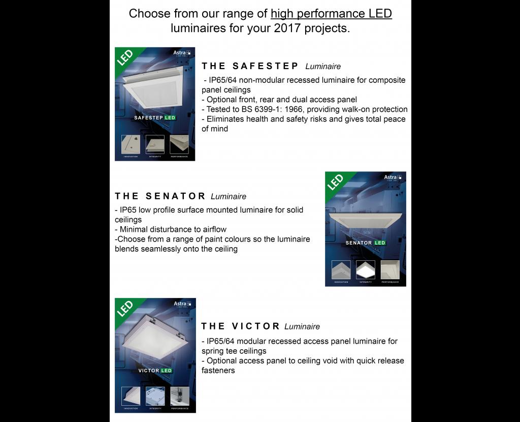 luminaire showcase page 1